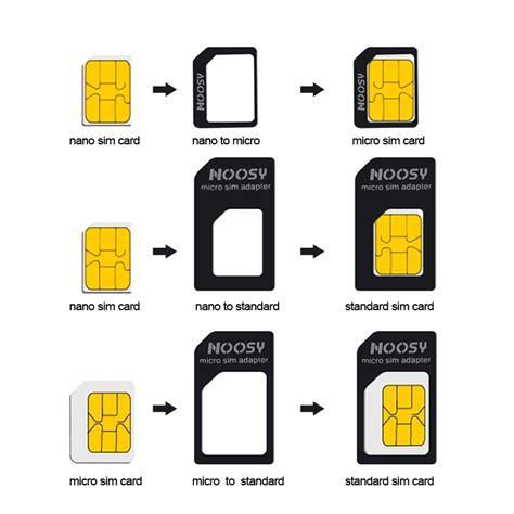 nano sim card micro sim adapters standaard sim card