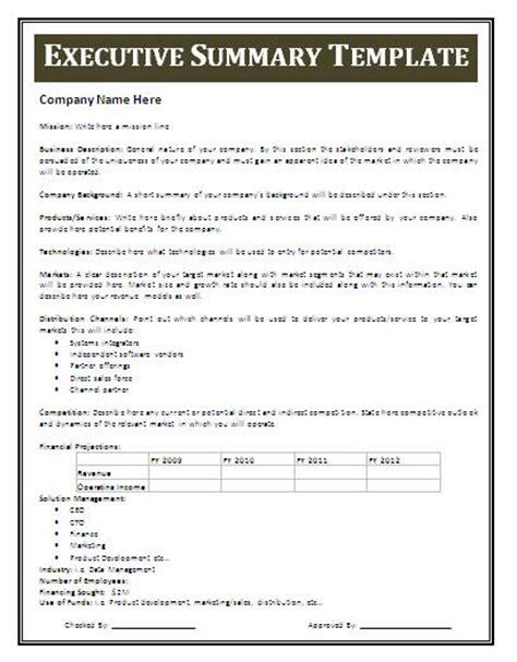 management executive summary exles printable calendar templates