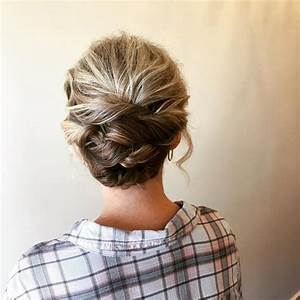 The 13 Cutest Updos For Short Hair In 2019