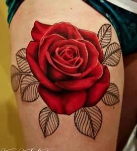 Tatouage De Rose : tatouage rose ~ Melissatoandfro.com Idées de Décoration