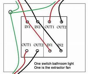 Replacing A Bathroom Light  Fan Switch     Connections