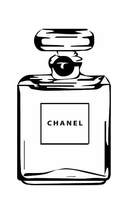 Chanel Svg Perfume Printable Silhouette Stencils Printables