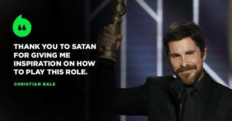 Christian Bale Takes Home First Best Actor