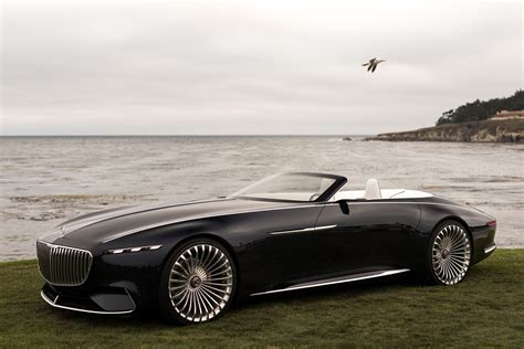 2017 Monterey: The Vision Mercedes-maybach 6 Cabriolet