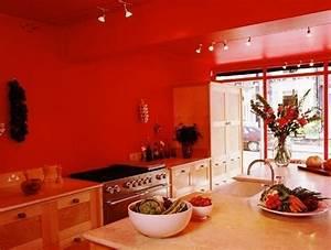 idee relooking cuisine modele de cuisine moderne couleur With awesome meuble de cuisine en bois rouge 0 cuisine moderne en bois