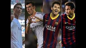 Cristiano Ronaldo Gareth Bale vs Leo Messi Neymar | Goals ...