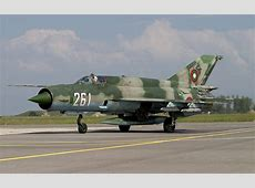 AirtoAir With Bulgarian Air Force MiG21Fishbeds