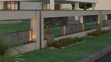indian house front boundary wall designs google search