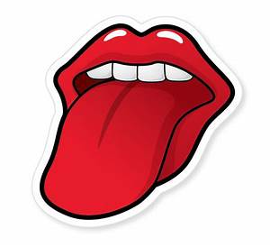 Rolling Stones Logo Black And White