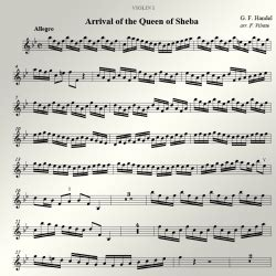 mozart wedding march from the marriage of figaro arranged