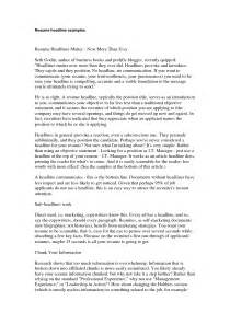 simple resume objective statement how to write resume headline