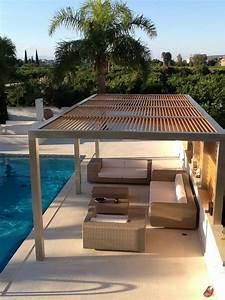 metall pergola mit holz google suche traum terrassen With katzennetz balkon mit garden pergola