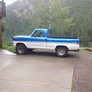 1972 Ford F100  Shortbed  4x4  390 V8 For Sale