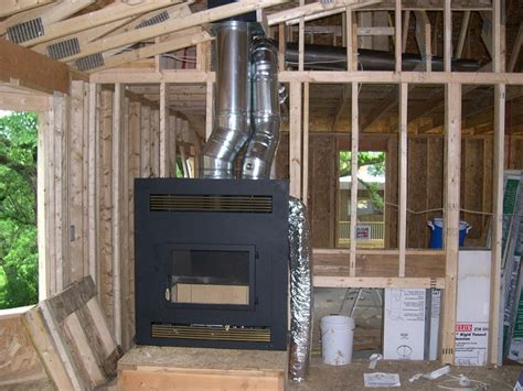 fireplace furnace remote ducting heat your whole home with your fireplace