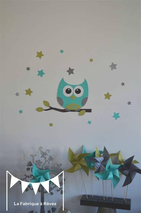 thème décoration chambre bébé deco chambre bebe hiboux