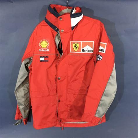 Get the best deals on ferrari clothing for men. Ferrari F1 Team Rain Jacket Tommy Hilfiger 1999-2000 - Luxury Vintage Concept