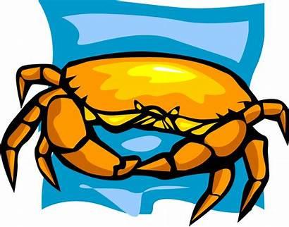 Clipart Seafood Crab Clip Fish Shrimp Sushi