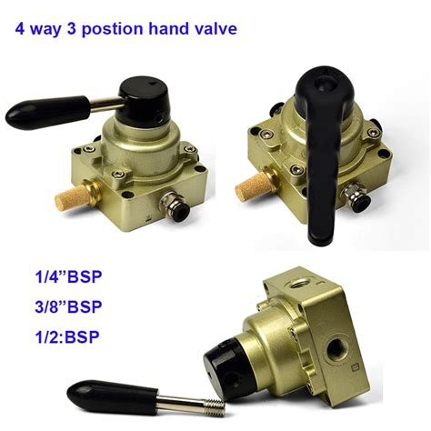 Gogo Way Position Pneumatic Air Hand Switch Valve