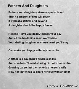 Fathers And Daughters Poem by Harry J. Couchon Jr - Poem ...