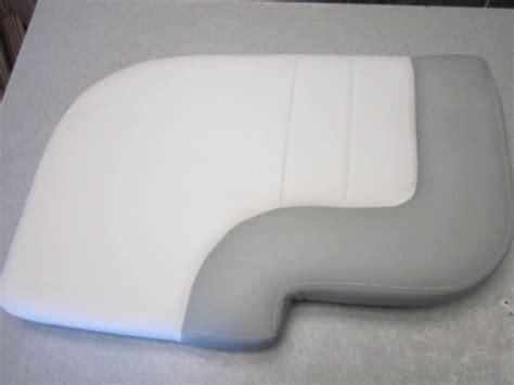 Used Boat Cushions For Sale by Mastercraft Ski Boat Seat Cushion White Silver Vinyl Ebay