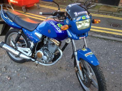 Qingqi Rsr 125, Geared Motorbike, 12 Months Mot, Recent