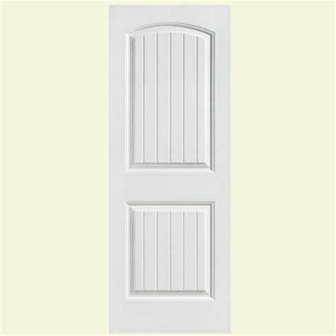 doors interior home depot masonite 24 in x 80 in winslow primed 3 panel solid