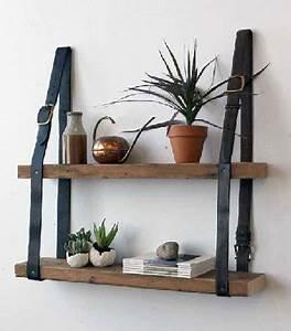 fabriquer etagere bois avec laniere cuir With peinture mur exterieur couleur 11 fabriquer un composteur en palette ou bois de recup