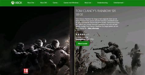 siege xbox one rainbow six siege install size on xbox one revealed
