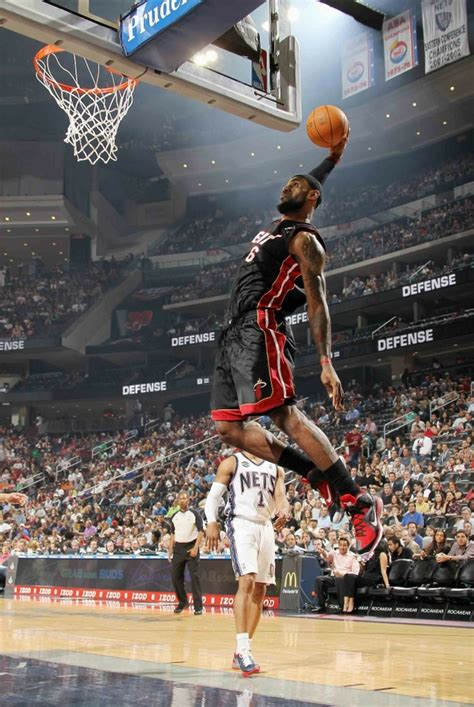 lebron james dunk heat wallpaper gallery