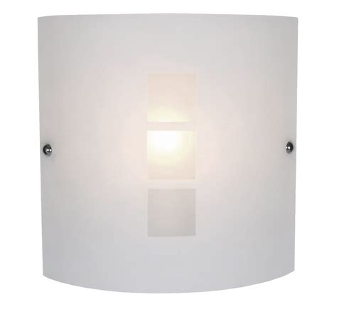 rauma frosted effect wall light departments diy at b q rauma square frosted wall light departments diy at b q