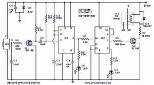 Remote Controlled Switch Circuit
