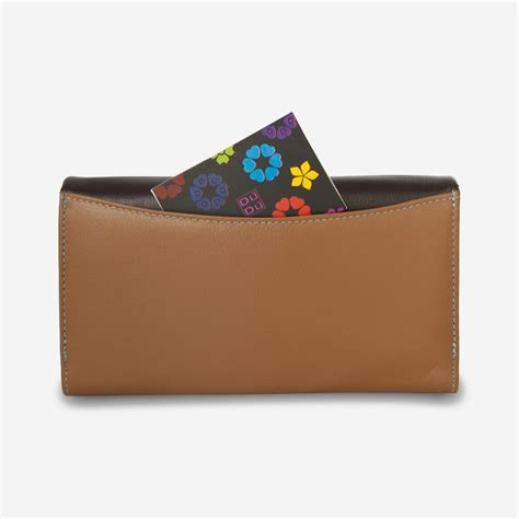 colorful wallets dudu colorful leather wallet for brown wallets