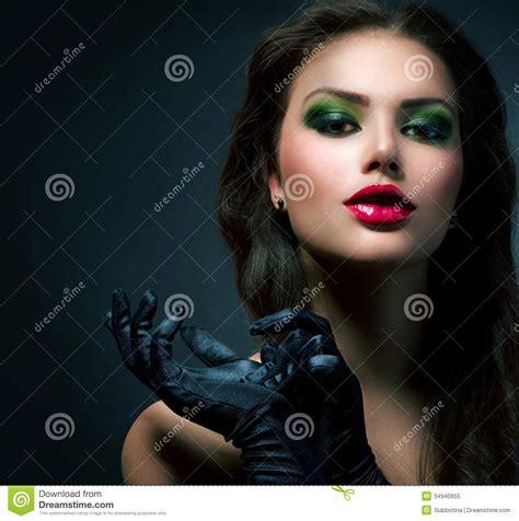 beauty fashion glamour girl stock image image of luxury