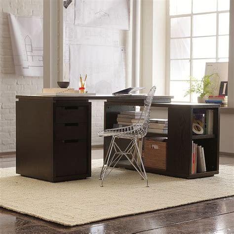 west elm desk modular office modern desks and hutches by west elm