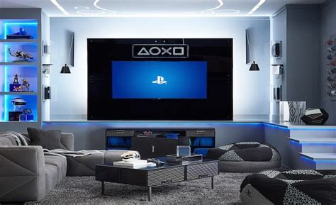 playstation unveils  official gaming lounge home collection