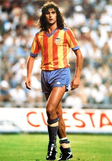 mario kempes valencia retro football shirts classic