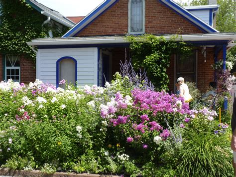 buffalo s blooming garden walk a treat toronto star