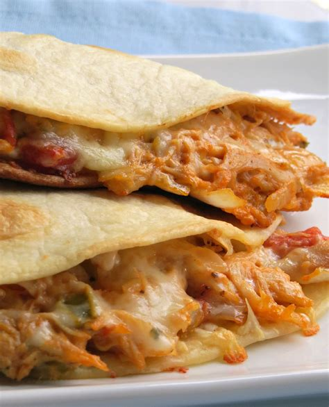 chicken quesadilla recipe cheesy chicken quesadillas recipe large skillet
