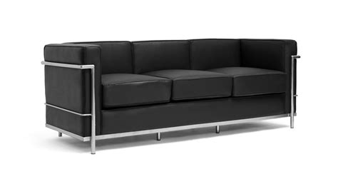 canapé lc2 le corbusier cassina le corbusier lc2 chair and sofa available in more