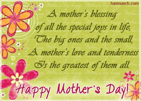 mothers blessing  mothers day ecards  mothers day