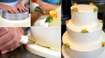 how to decorate a wedding cake make your own wedding cake weddings epicurious epicurious