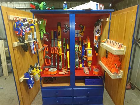 Nerf guns are often near the top of wishlists for boys and girls across the us. The top 20 Ideas About Nerf Gun Storage Ideas - Best ...