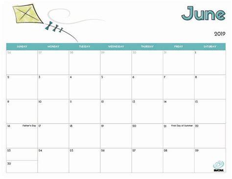 printable calendar  kids kids calendar