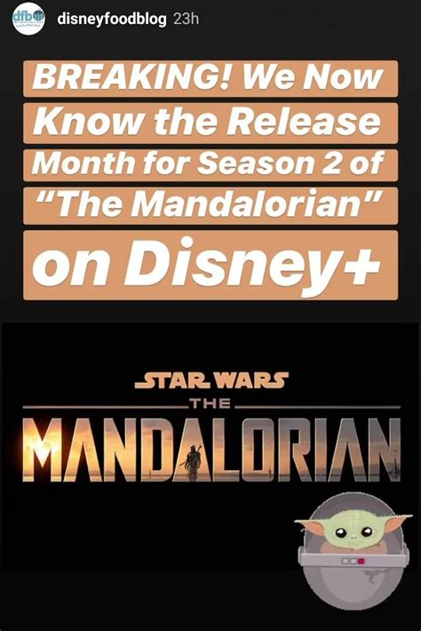 The Mandalorian S2 will release in October in 2020 ...