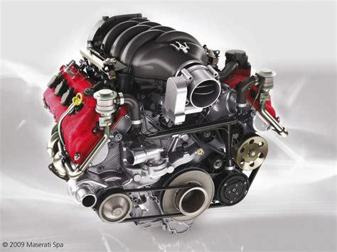2009 Maserati Gran Turismo S Automatic Engine
