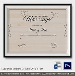 premarital counseling certificate of completion template sample marriage certificate template 18 documents in word psd - Marriage Counseling Certificate Of Completion Template