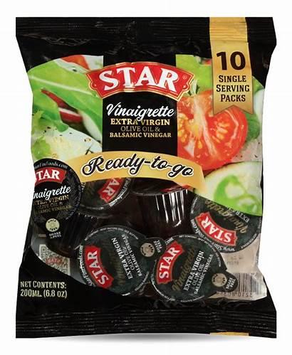 Pack Single Serving Vinaigrette Packs Salad Star