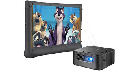 buy insignia projector  inflatable screen
