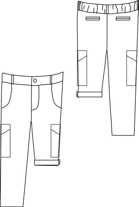 Blank Slate Coastal Cargoes- Child's Pants Downloadable