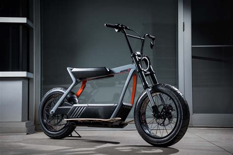 Harley-davidson Shows Off Electric Moped And Scooter